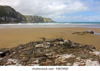 Seacliffs at Purakanui Bay, The Catlins, New Zealand