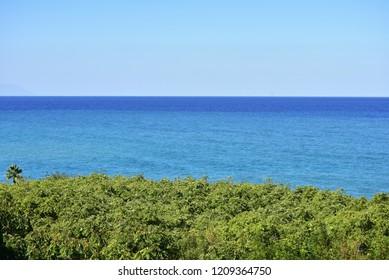 seacoast near Tropea town in Calabria,Italy
