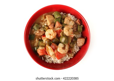 Seafood, Chicken and Sausage Gumbo