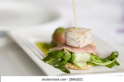 seafood dinner , high quality food