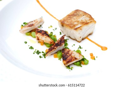 Seafood gourmet plate