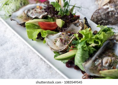 seafood oyster dish