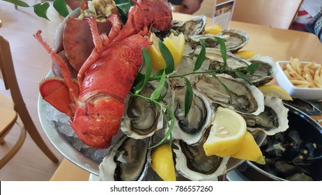 Seafood Oyster Lobster