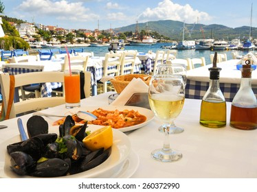 Seafood restaurant in Greece