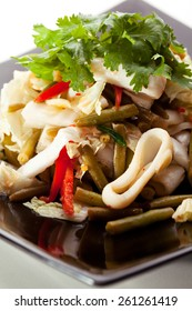 Seafood Salad with Chili Sauce
