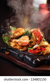 Seafood sizzling
