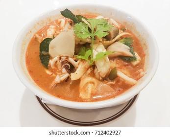 Seafood Tom Yum noodle