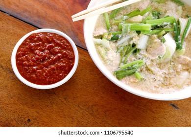 Seafood vermicelli soup - Sukiyaki