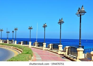 Seafront of Sliema and St. Julians, Malta
