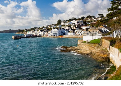 The seafront at St Mawes Cornwall England UK Europe