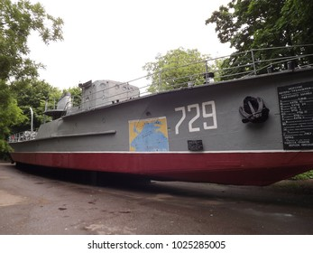 Seagoing minesweeper from the second world war, intended for the installation of minefields and anti-submarine warfare to the Nazis