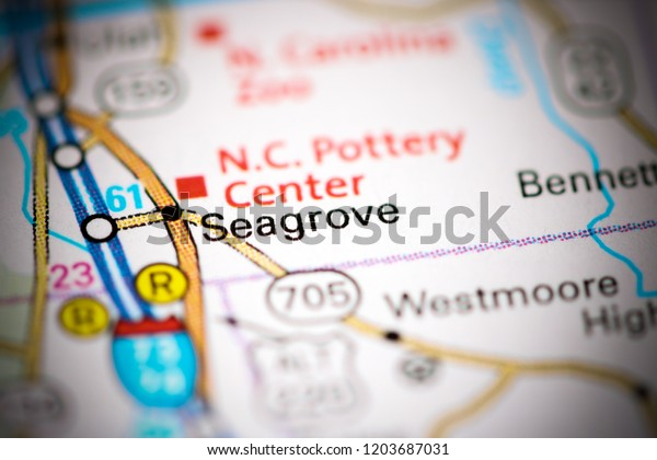 Seagrove North Carolina Usa On Map Stock Photo (Edit Now ... on king north carolina map, archdale nc map, old salem map, rosemary beach fl map, village of pinehurst map, randolph county nc map, trinity nc map, nc state map, central nc map, troy nc map, blue ridge parkway map, nascar map, creedmoor nc map, sun valley resort map,