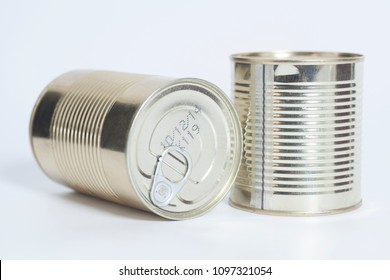 sealed metal cans