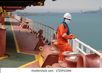 seaman covid-19 main deck mooring equipment
