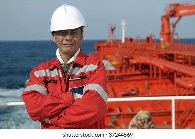 Seamen â?? old boatswain of the tanker ship