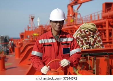 Seamen â?? old boatswain of the tanker ship