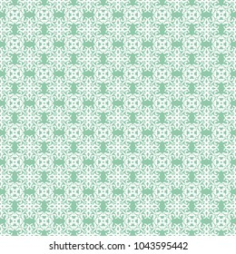 Seamles raster decorative pattern with ornament. Background for printing on paper, wallpaper, covers, textiles, fabrics, for decoration, decoupage, scrapbooking and other