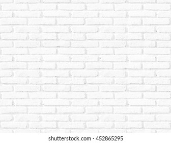 Seamless abstract square white brick wall texture background.