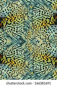 seamless animal skin pattern background