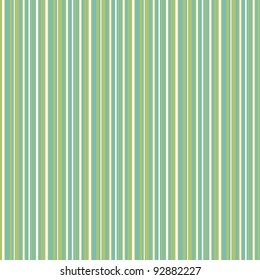 Seamless Aqua, Green, & White Striped Background
