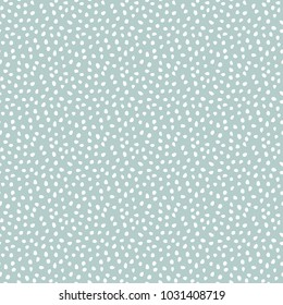 Seamless background with random white elements. Abstract ornament. Dotted abstract pattern