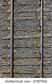 seamless background , sleepers and rails railroad transportation industry