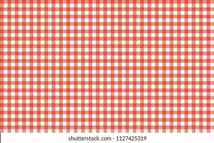 Seamless background tablecloth texture red white