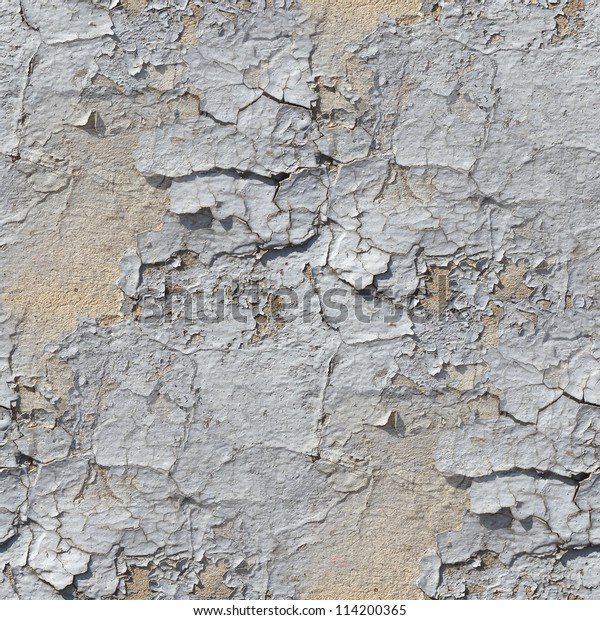 Seamless Broken Wallpaper Texture Old Stone Stock Photo
