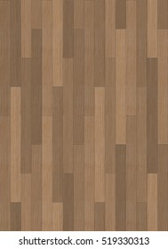 Seamless Brown Wood Flooring Texture