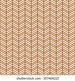 Seamless burgundy red and beige interchanging chevrons pattern