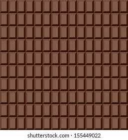 Seamless chocolate pattern. Raster version. The original is also available in my gallery