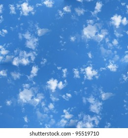 Seamless Clouds and Blue Sky