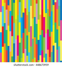 Seamless colorful background. Colorful lines pattern.