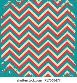 Seamless colorful vintage pattern background