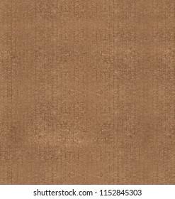 Seamless corrugated cardboard kraft paper texture medium roughness