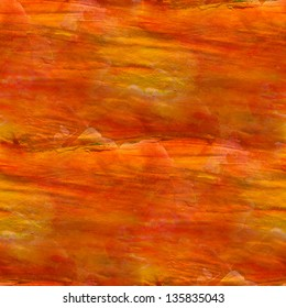 seamless cubism abstract art orange texture watercolor wallpaper background