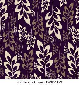 Seamless damask pattern for wallpaper design