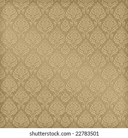 Seamless Damask, See Vector Also In My Portfolio