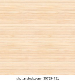 Seamless design bamboo wood texture background in natural light yellow cream beige color