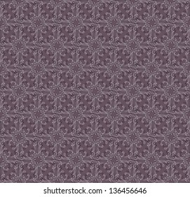 Seamless floral pattern. Raster copy of vector image