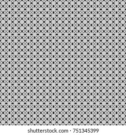 Seamless geometric pattern in gray, black and white colors. Oriental style.