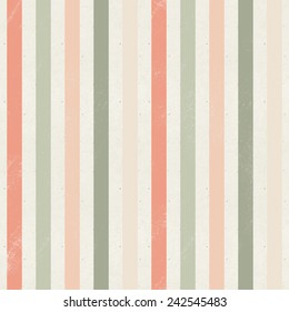 Seamless geometric pattern on paper texture. Striped background