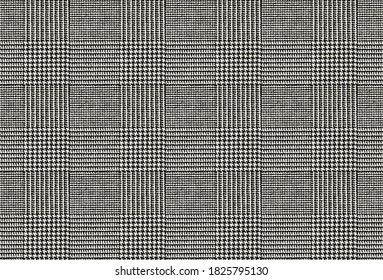 seamless glen plaid texture pattern