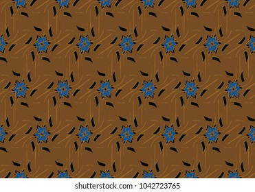Seamless golden ornament in arabian style. Geometric abstract background. Pattern for wallpapers and backgrounds.