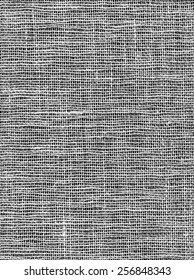 Seamless Gray Burlap Background. Natural texture of coarse canvas woven from jute, hemp, or a similar fiber, used esp. for sacking.