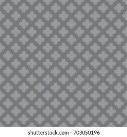 Seamless gray vintage pattern