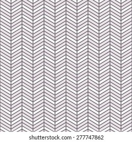 Seamless inverse black and white interchanging chevrons pattern