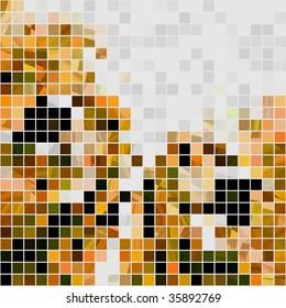 Seamless Mosaic Tiles Abstract