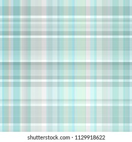 Seamless multicolored background illustration of plaid pattern