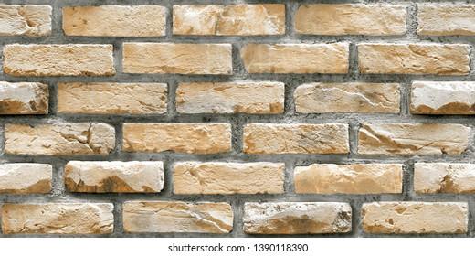 seamless natural bricks wall for wall paper